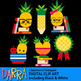 Back to school clip art - Classroom Pineapple clipart