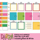 Back to school clipart - Pencils and Planners Clip Art