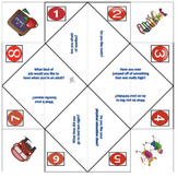 Back to school cootie catchers - Getting to know you activity