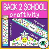 Back to school craft & coloring set