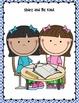 Back to school essentials for preschool thru 1st grade!