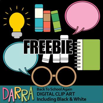 Back to school free clip art