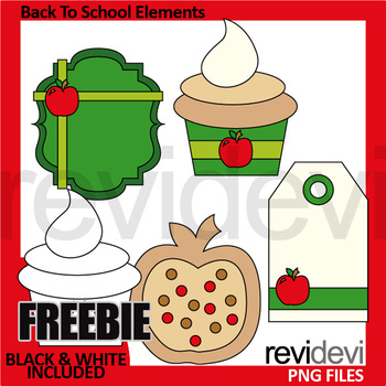 Back to school free clip art - back to school elements