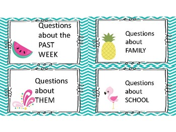 Back to school game get to know your students tropical beach theme