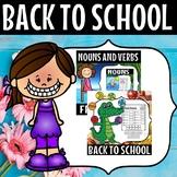 Back to school grade 1