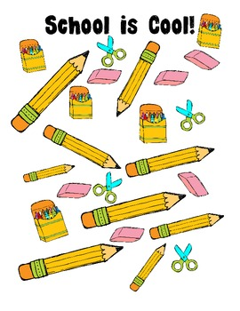 Back to school graphing- Grade 1
