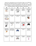FRENCH: Back to school icebreaker interactive BINGO [tout