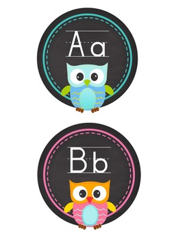 Back to school is a hoot! Printable classroom templates, decor printables