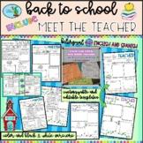 Back to School Pamphlet, Meet the Teacher Flipbook, Parent Info, Communication