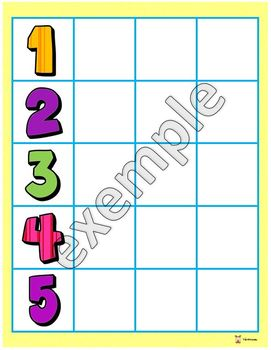 Back to school number activity