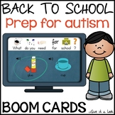 Back to School Activity for Autism - What Do I Need for School?