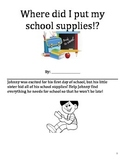 Back to school prepositions