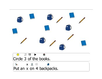 Back to school reading and language activity for reading readiness learners!