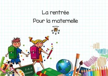 Back to school - rentrée pour la maternelle