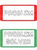 Back to school rules problem/solution cards