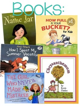 Back to school stem with books