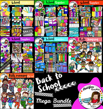 Back to school supplies and kids Mega bundle