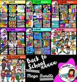 Back to school supplies and kids Mega bundle