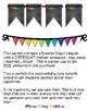 Back to school - theme pennants poster - emoji flower pineapple flamingo star