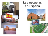Back to school vocab comparing US & Spain schools