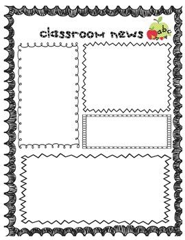 original-306472-3 Teaching Helper Clroom Newsletter Templates on