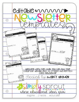 teachers newsletter templates