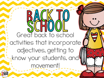 Back to school with adjectives