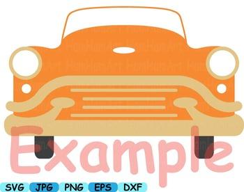 Back to the 50's Clip art svg music cars radio Fifties vivyl records rock-113s