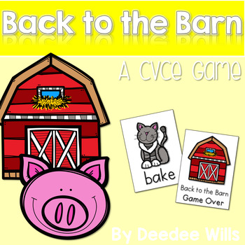 CVCe Game:  Back to the Barn  Memory Match