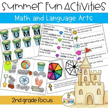 Beach Activities ~ Language Arts