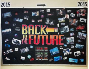 Back to the Future 2 Bulletin Board