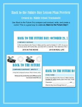 Back to the Future Day: October 21, 2015 (Full Lesson)