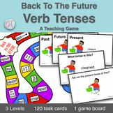 Verb Tense Grammar Activity | Past Present & Future Game