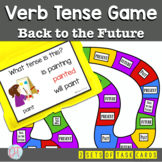 Grammar: Back to the Future Verb Tense Board Game