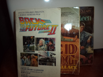 Back to the Future,Red Dog, Fifteen   (set of 3)