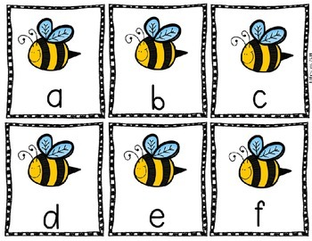 Back to the Hive ABC Game