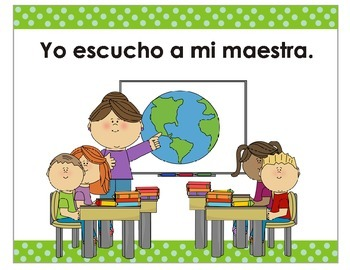 Back to the School, Classroom Rules- Yo escucho a mi Profesora
