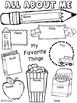 Back2School - All About Me FREEBIE