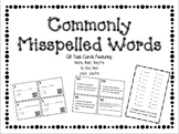 Commonly Misspelled Words (your, there, to)