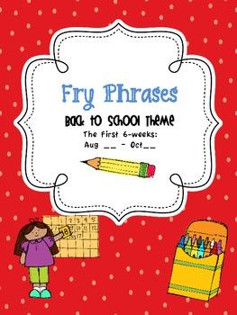 Back2School Fry Phrases