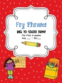 Back2School Fry Phrases
