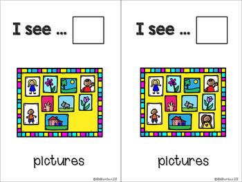 Back2School - KINDERGARTEN - Counting Flashcards Pictures