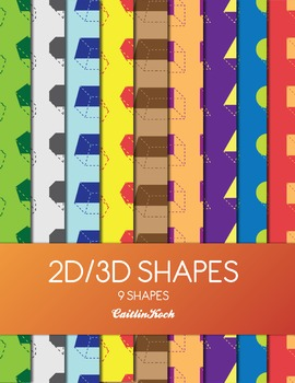 Background - 2D/3D Shapes