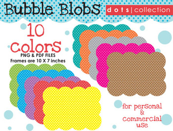 Background - Bubble Blob {Dots Collection}