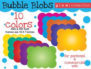 FRAMES Bubble Blob {Glow Collection}