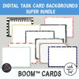 Background Bundle for digital task cards - Boom Cards™