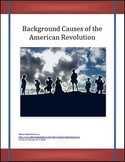 Background Causes of the American Revolution Differentiated Instruction Lesson