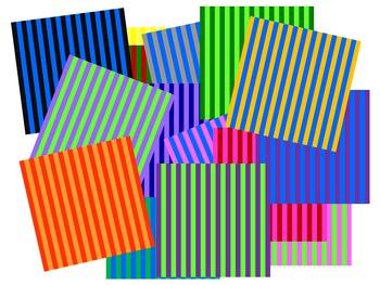 Background Clip Art Stripes Pack 1