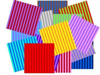 Background Clip Art Stripes Pack 2