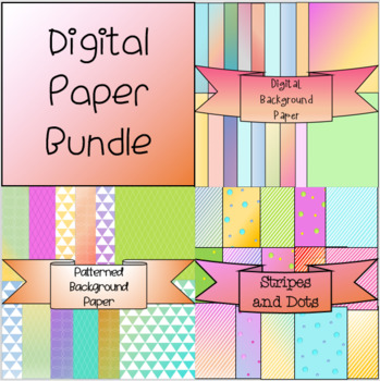 Background Digital Paper Bundle